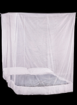 Double Box Mosquito Net in White