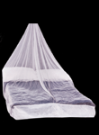Double Compact Mosquito Net in White